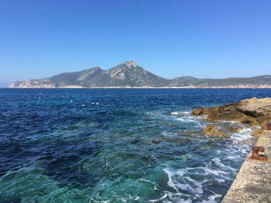 Paris-Meridian auf Mallorca
