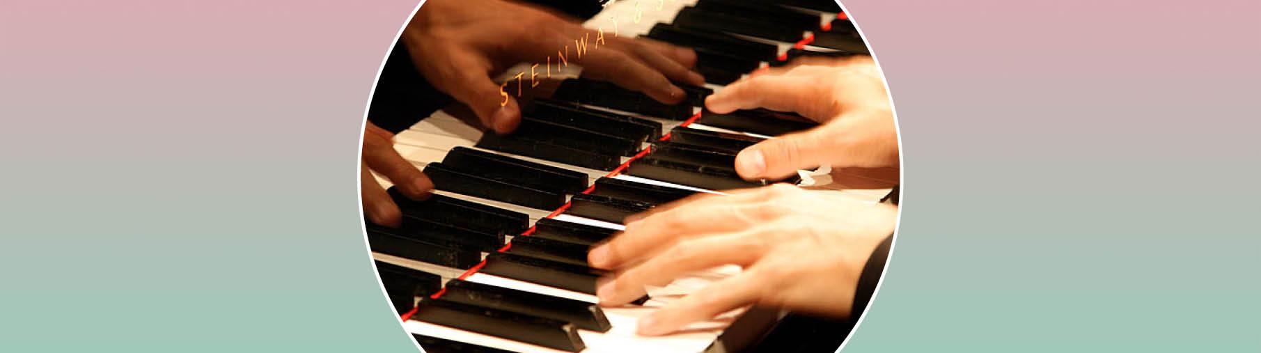 Ingrid Auer Klavierspieler Oktaven Oktave